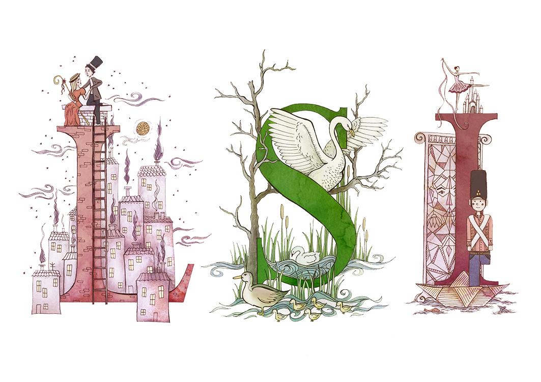 Fairytale lettering