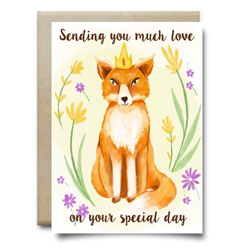 Greeting card design by Olivia Linn